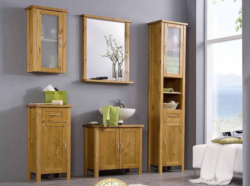 Badschrank holz weiß  Badmöbel holz | Bad | Pinterest | Badmöbel holz, Badmoebel und Holz