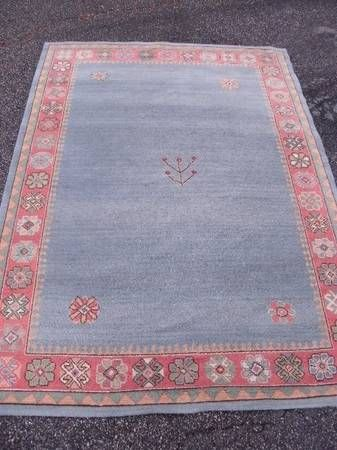 blue new zealand rug $125 | Contemporary area rugs, Wool ...