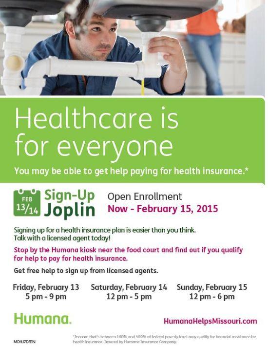 Events At Northpark Mall Humana Open Enrollment Feb 13 2015