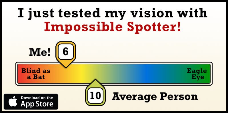 Impossiblespottercom Really Cool Test To See How Good You Are At