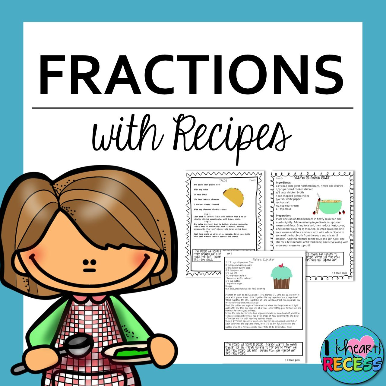 Use The Recipe Task Cards To Teach Or Practice Ccs 4 4