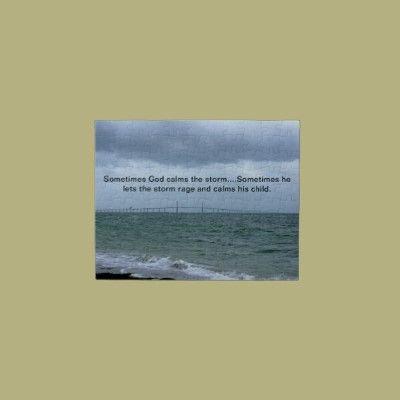 God calms the storm puzzles