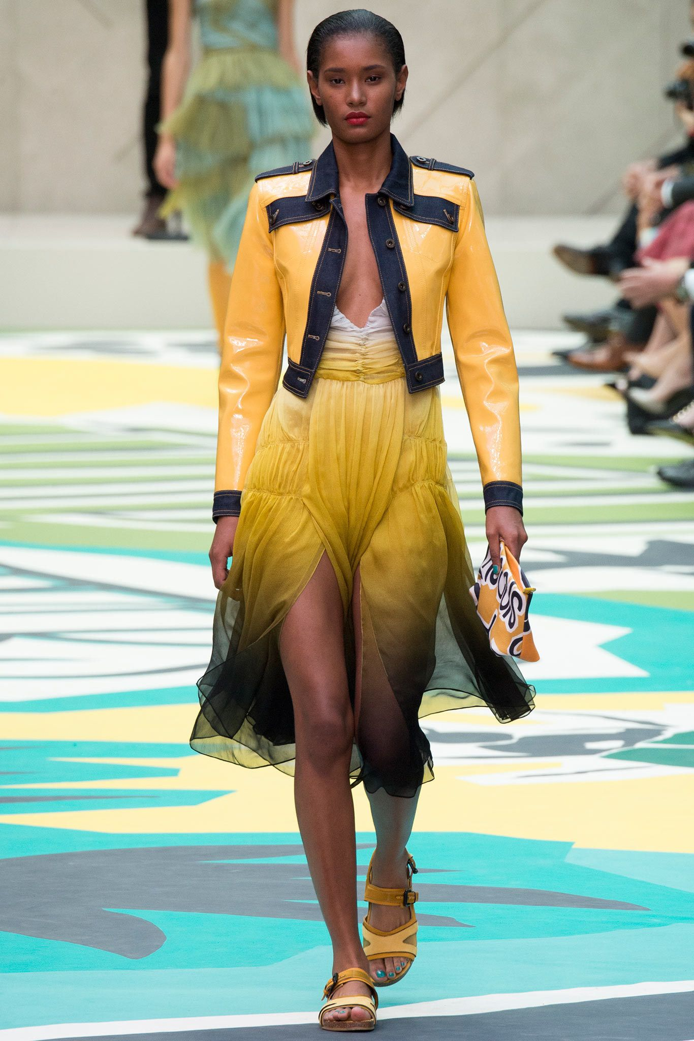 Burberry Prorsum Spring 2015 Ready-to-Wear Fashion Show - Malaika Firth