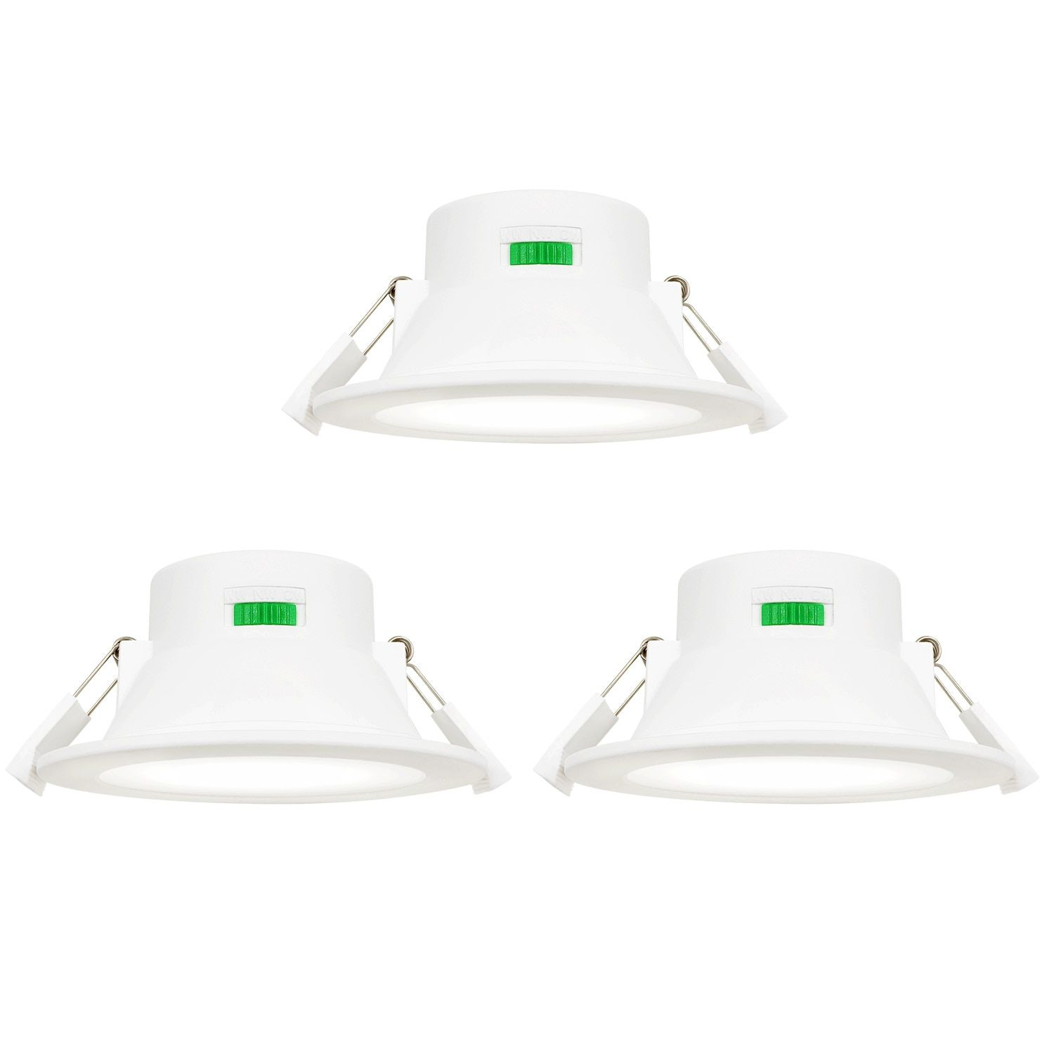 Dimmable 10w Led Ceiling Downlights Recessed Lights Warm Cool