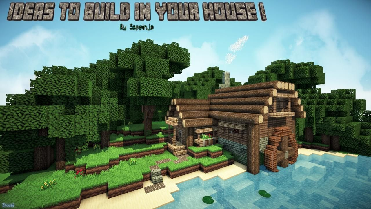 Ideas to build in your house minecraft blog minecraft - Things to know when building a house ...