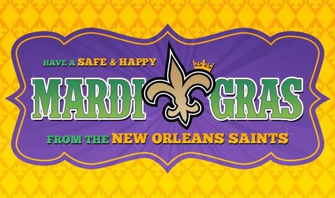 Happy Mardi Gras 2014