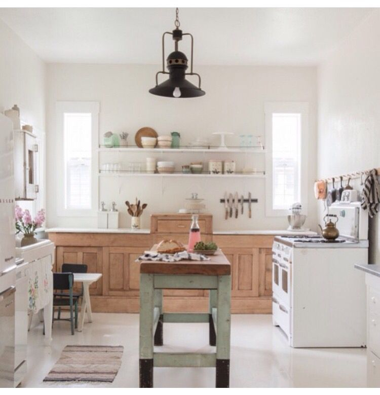 The 15 Most Beautiful Kitchens On Pinterest: Vintagewhites On Instagram! :) Love This Kitchen