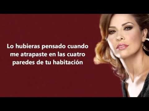 Gloria Trevi No Querias Lastimarme Letra 2013 Youtube Con