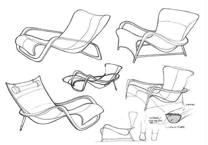 chair design drawing. Silhouette Chair Linley - Google Search Design Drawing P