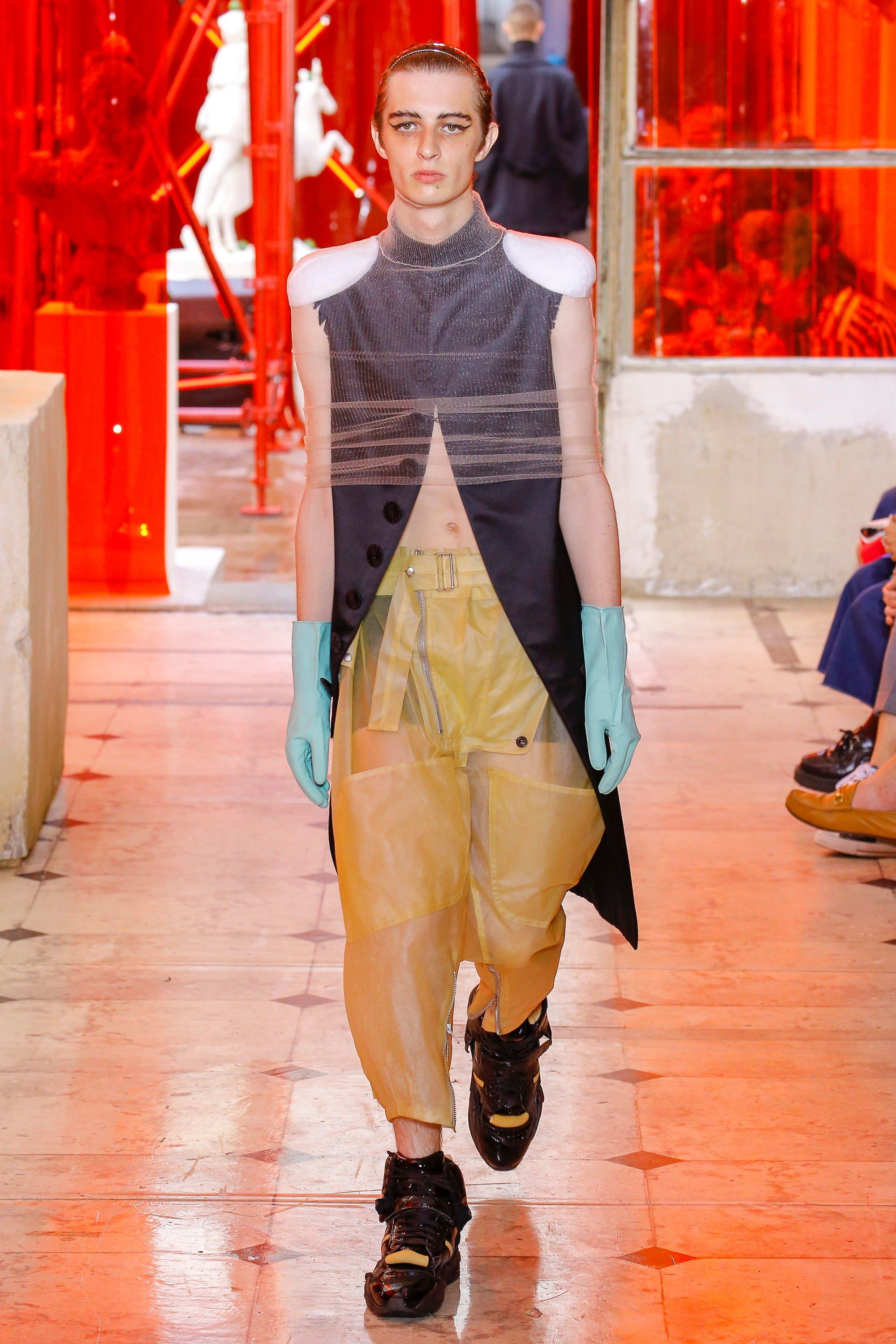 Martin maison margiela mens spring runway recommendations to wear in spring in 2019