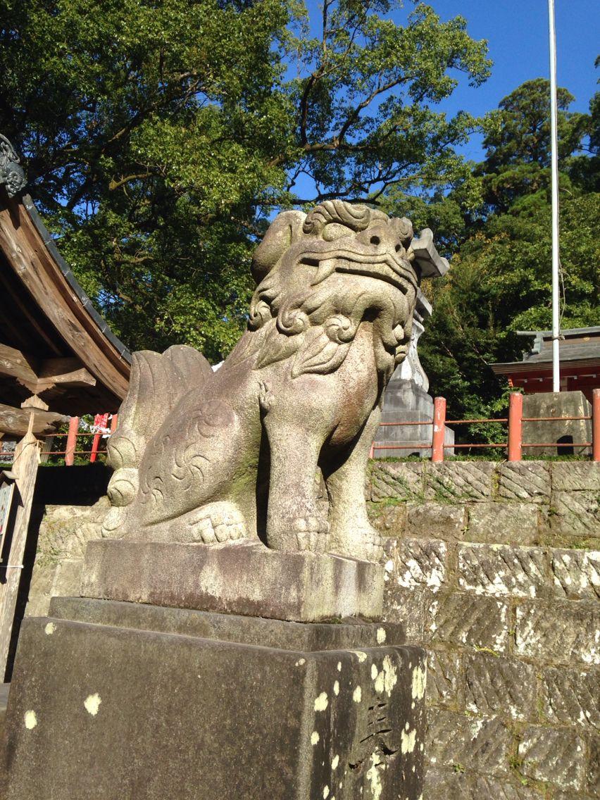 狛犬 蒲生八幡神社 鹿児島
