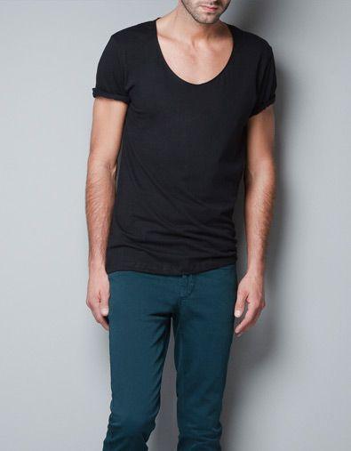 8af2b99d PLAIN T-SHIRT - T-shirts - Basics - Man - ZARA United States $16 ...
