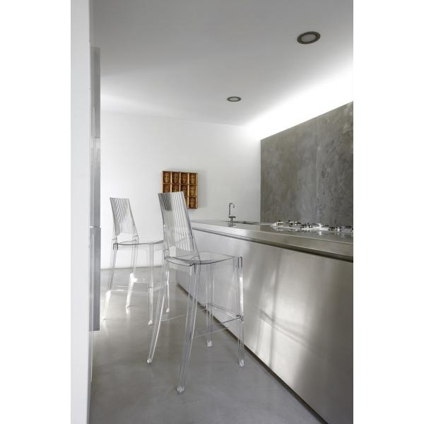 Sgabelli alti modello Glenda. Moderni per casa, cucina, soggiorno ...