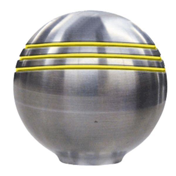 Ongaro Throttle Knob - 1-⅞ - Gold Grooves