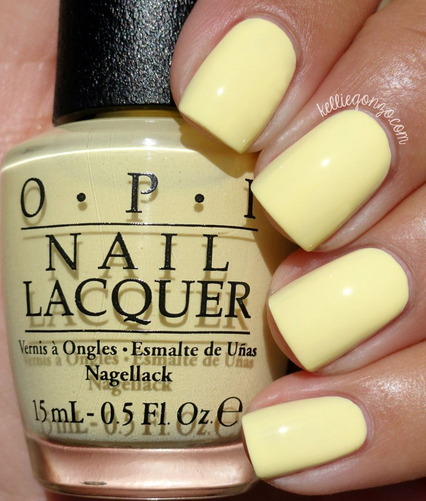 Opi Retro Summer 2016 Collection Swatches Review Nail Colors
