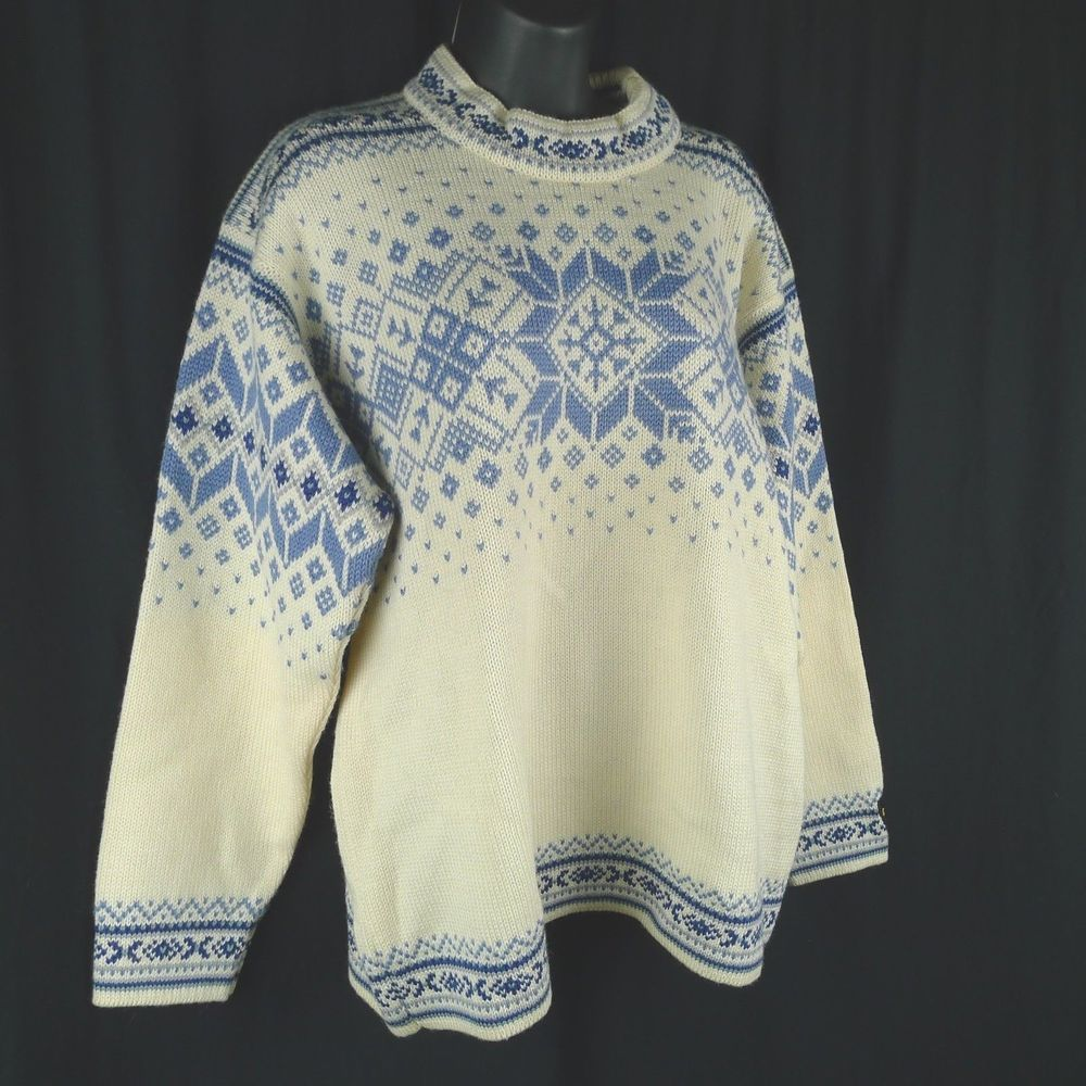 Details about DALE OF NORWAY SUNNIVA WOOL CARDIGAN SWEATER