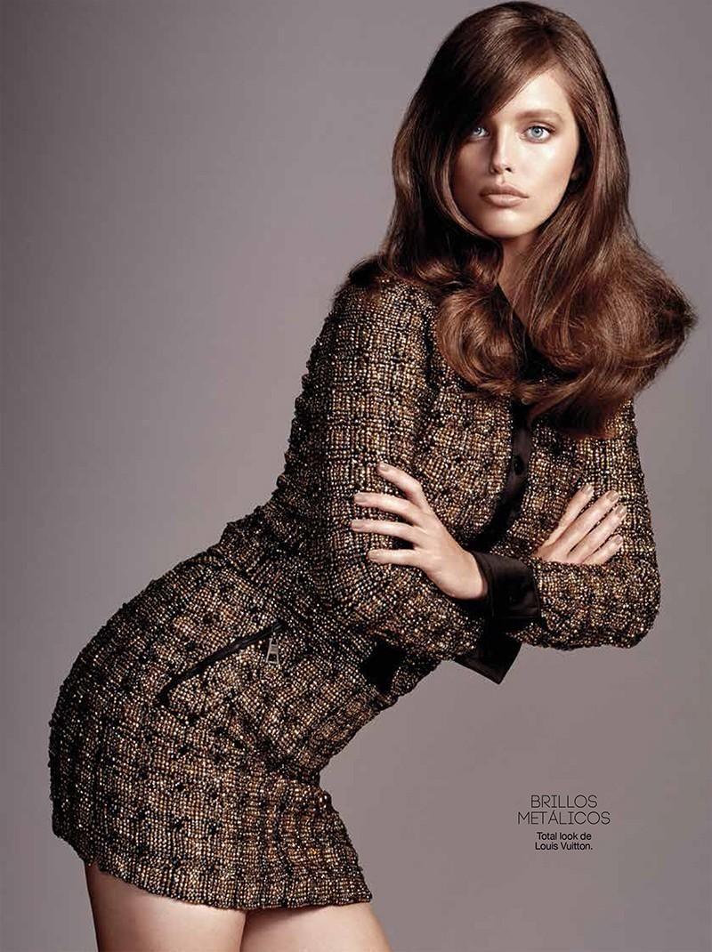 Nuevo Sastre Nueva Mujer: Emily DiDonato by Yu Tsai for Glamour Spain September 2015