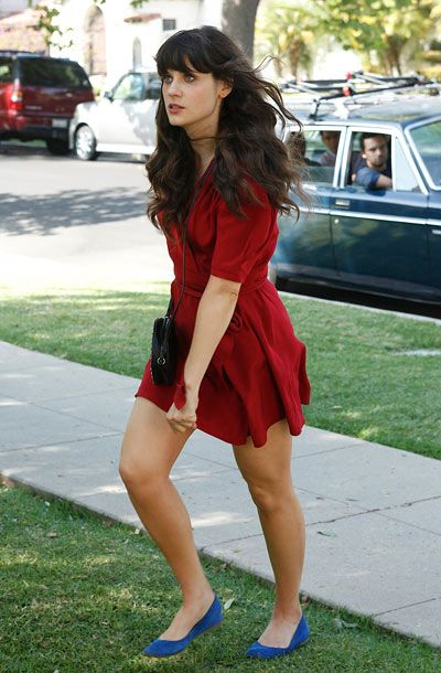 Pin By Fabrice Guyonneau On Celebrities New Girl Outfits Zooey Deschanel Style New Girl Style