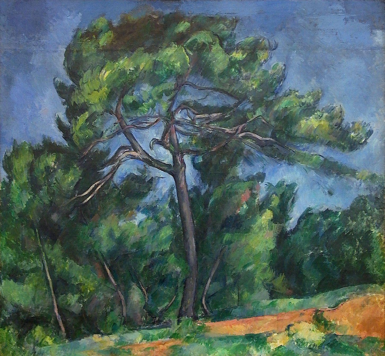 The Big Pine Cezanne Museu De Arte Producao De Arte Museu De