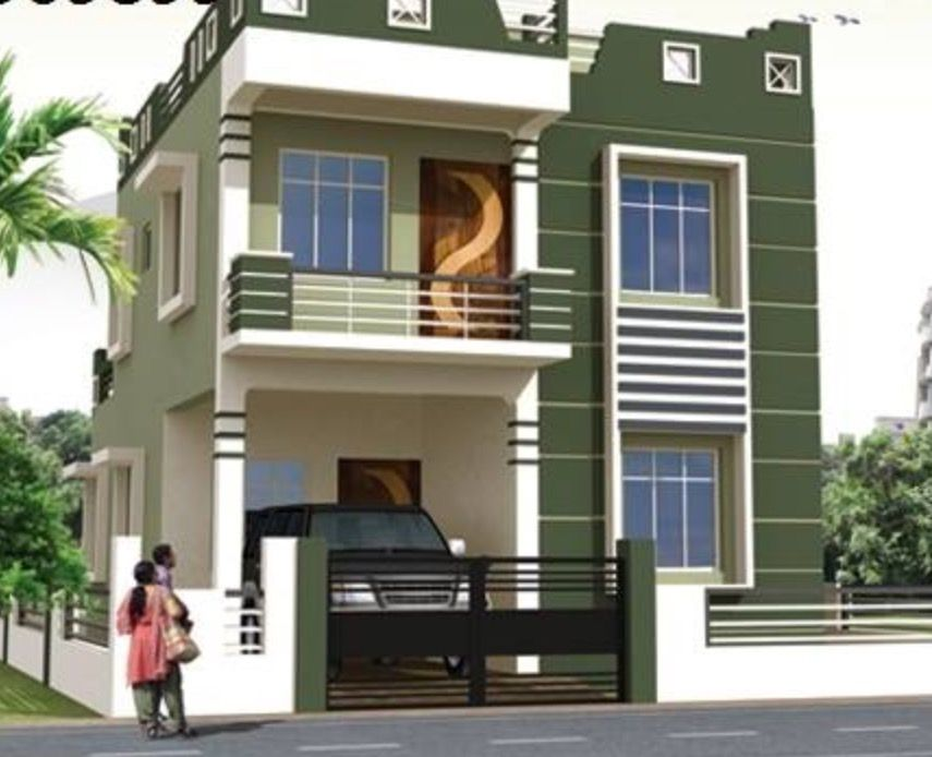 beautiful modern house front elevation design double floor youtube architecture art ed in plans bungalow exterior also rh pinterest