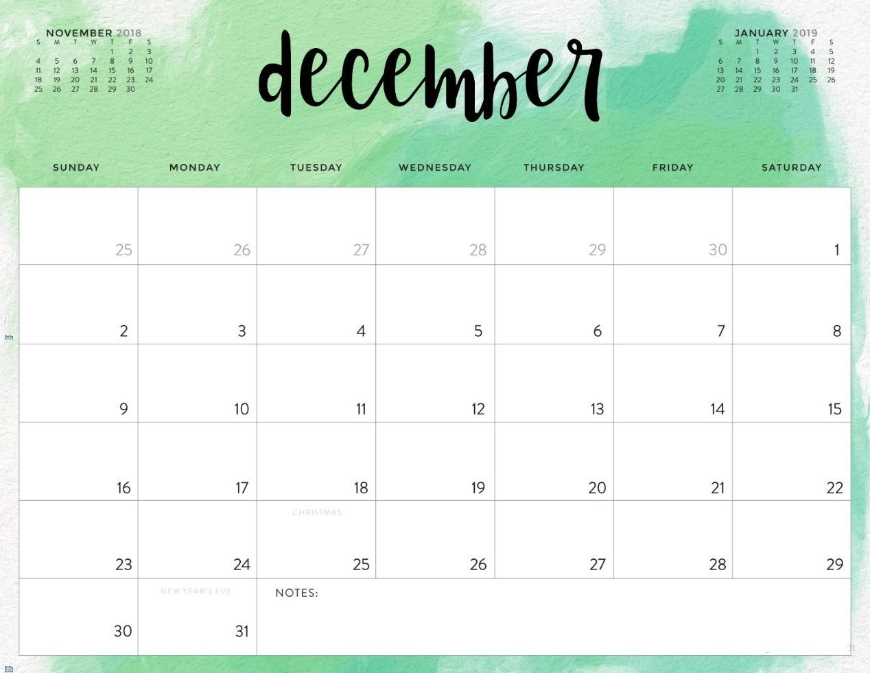 image about Printable December Calendar named December 2018 Calendar United kingdom Printable #UKCalendar