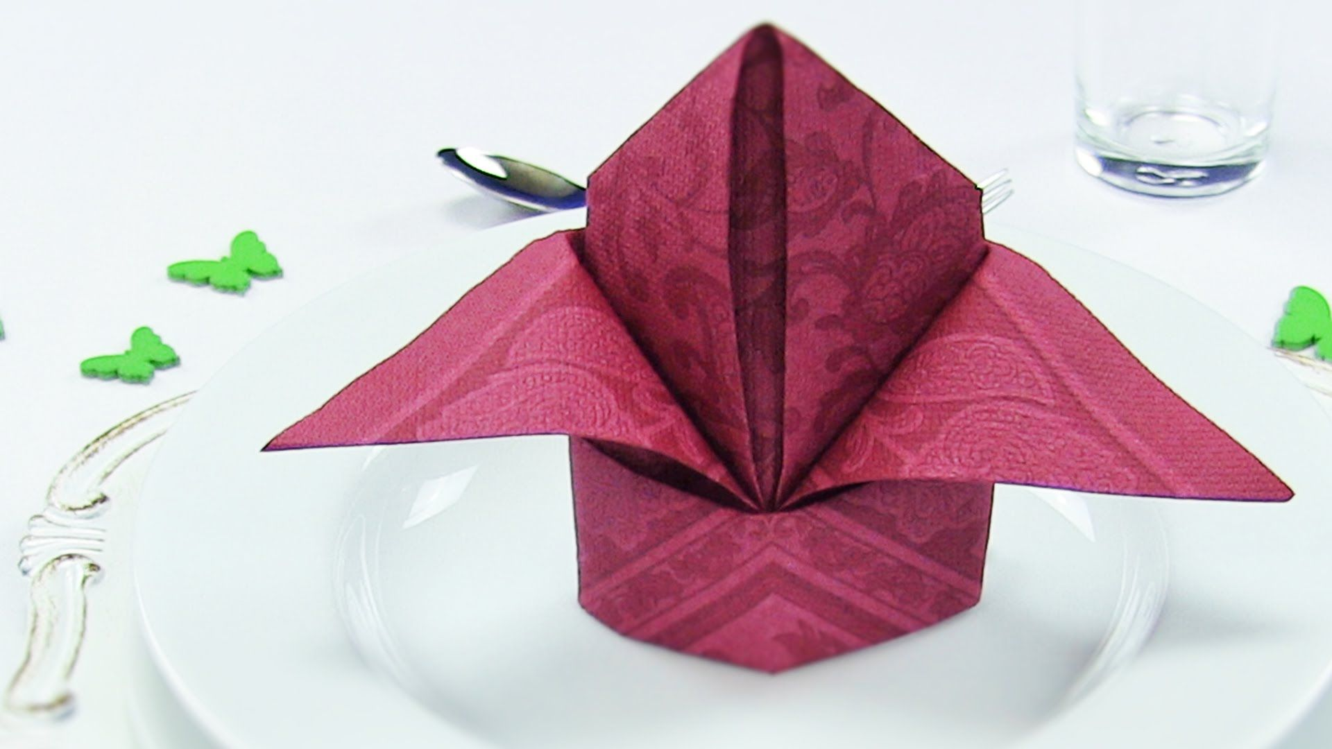 Napkin folding lily or bishops hat easy tutorial napkin table napkin folding bishops hat or lily an easy tutorial for napkin folding beginners youll learn how to fold a lily or a bishops hat out of paper mightylinksfo