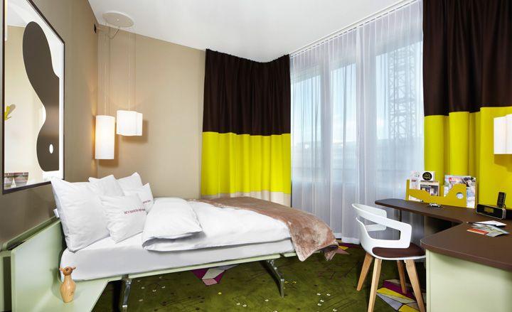 25hours Hotel Zürich West, Zürich, Switzerland-Swiss designer Alfredo Häberli