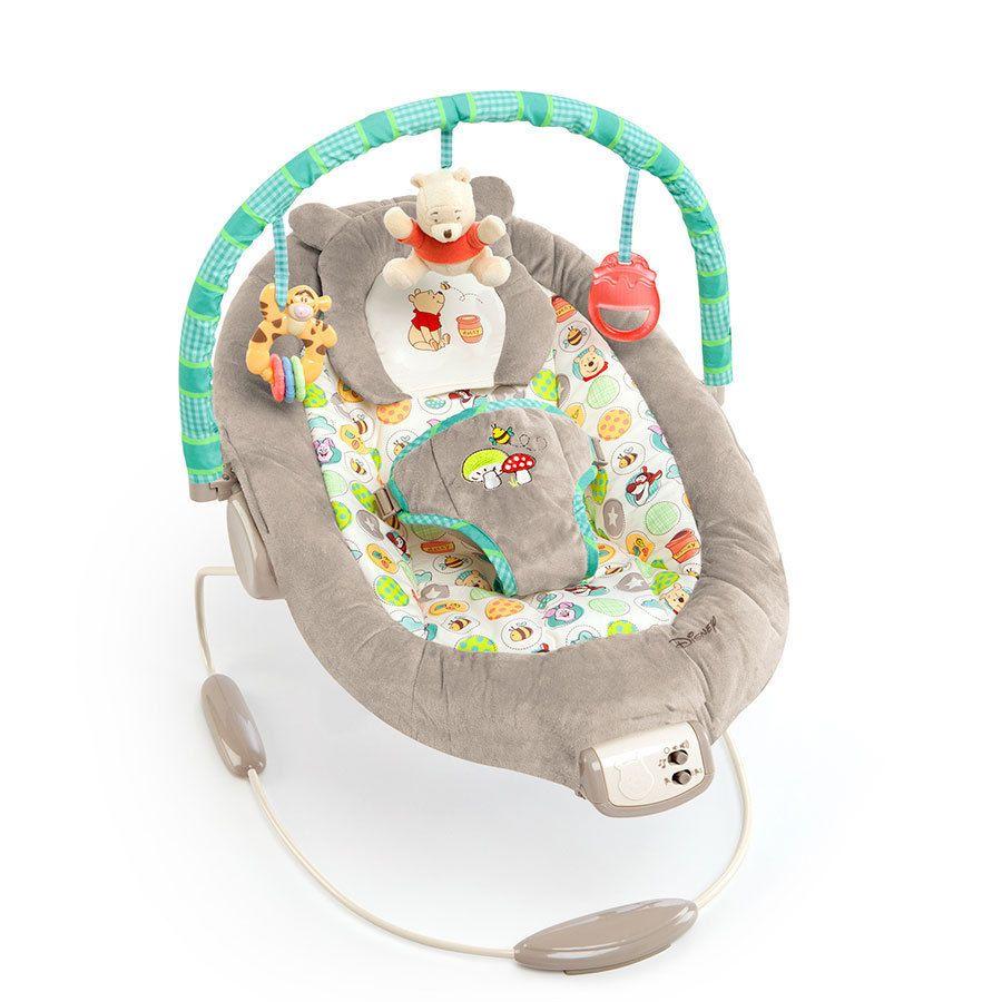 Disney Baby Winnie Pooh Tigger Bouncer Chair Vibrating