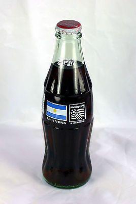 1994 Coke-Cola World Cup Soccer USA Full 8 Ounce Bottle