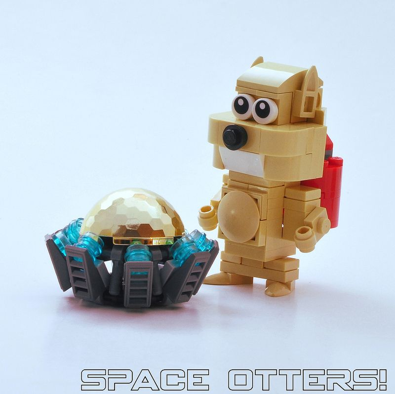 Space Otter! | by Si-MOCs