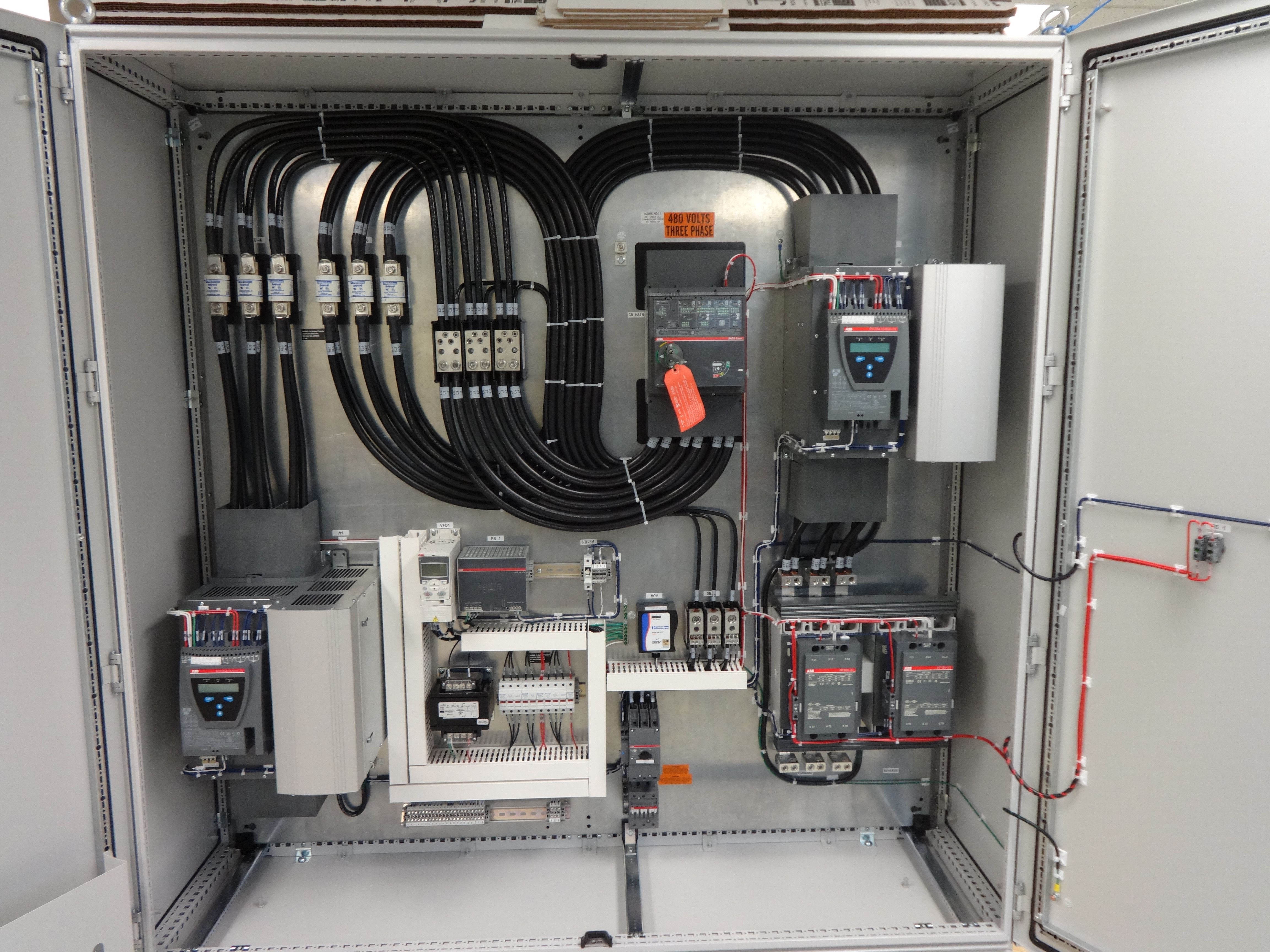 medium resolution of wiring a control panel up beautiful job done cable management in 120v electrical switch wiring diagrams beautiful home wiring