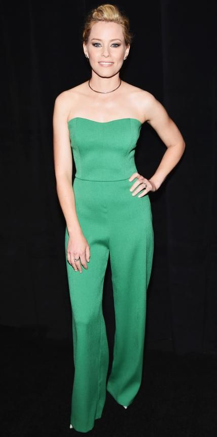 Look of the Day - April 21, 2015 - Elizabeth Banks in Saloni from #InStyle