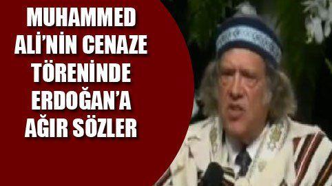 Muhammed Ali'yi anma töreninde Haham, Türkiye'yi hedef aldı.