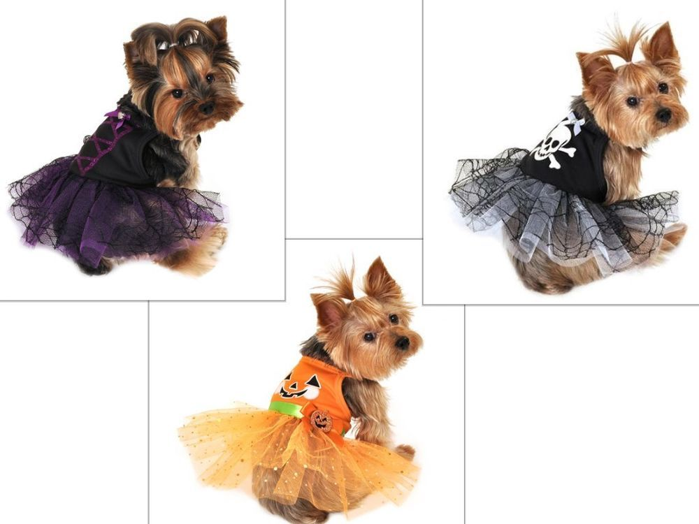 Details About New Simply Dog Xs Witch Pet Tutu Black Party Dress