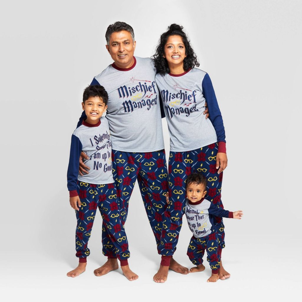 Discover Unique Matching Family Christmas Pajamas Check
