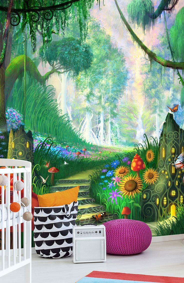 Hidden Treasure Wall Art By Philip Straub Wallsauce Us Wallpaper Wall Art Mural Wallpaper