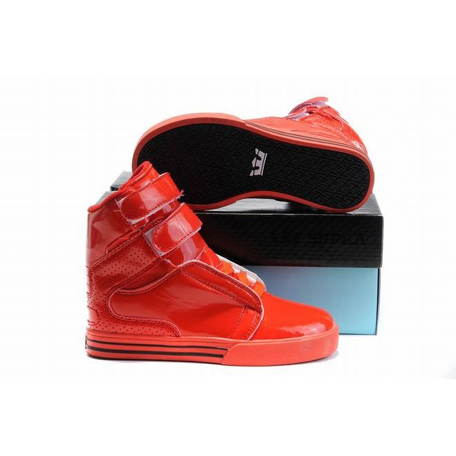 c07c17be1f2f kid supra tk society all red leather