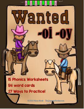 PHONICS Focus {OI & OY} Diphthongs
