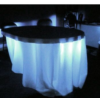 Under Table Lighting White Led Battery Operated 80 Led With