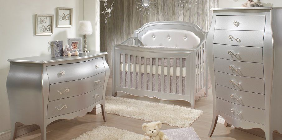 Metallic Silver Girls Bedroom Alexa Our Shining Star Rated A