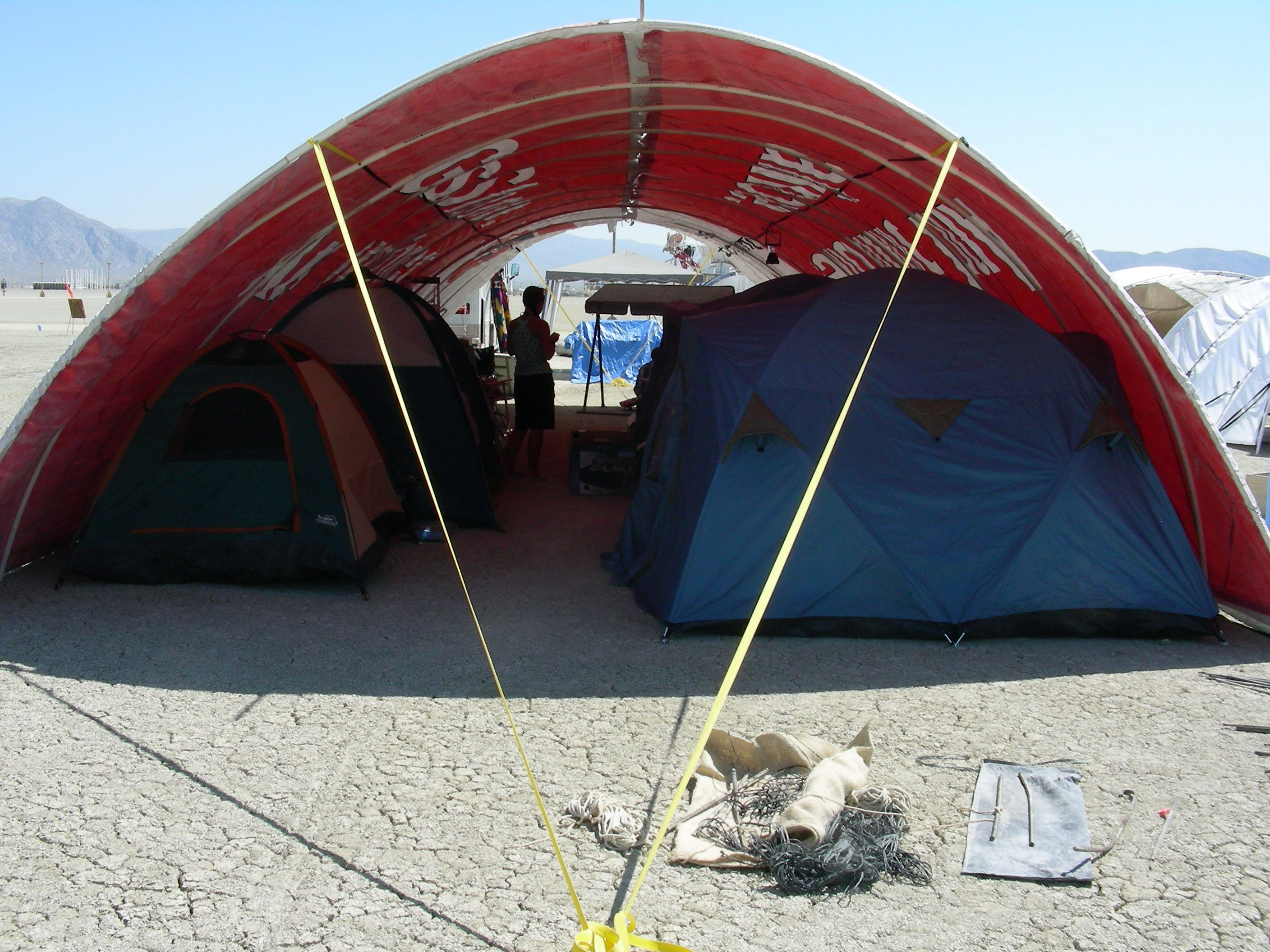 burning man shade structures | Clif's Shade Structure