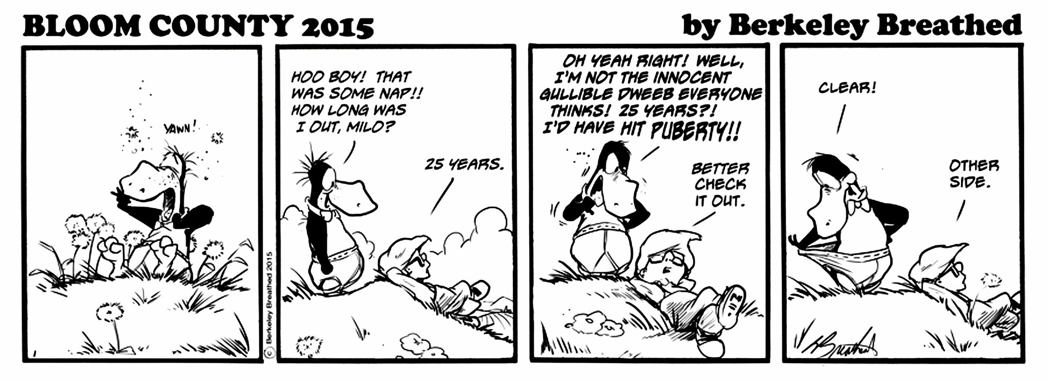 Bloom County 2015 - 07-13 - Monday