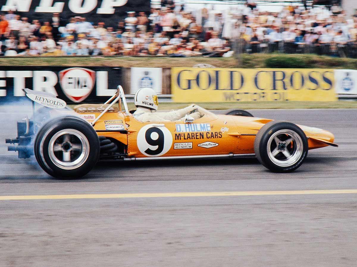 1970 GP Wielkiej Brytanii (Denny Hulme) McLaren M14A - Ford | 1970 ...