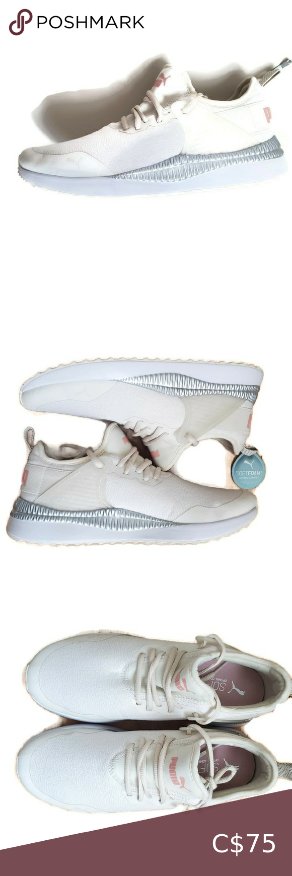 Puma | Pacer Next Cage Glitter Sneakers size 8 NWT in 2020