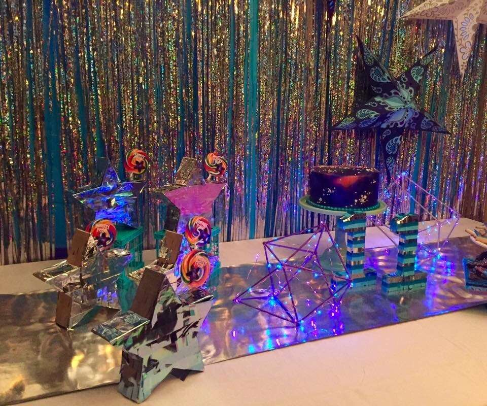 Stars and space galaxy Birthday Party Ideas Favors