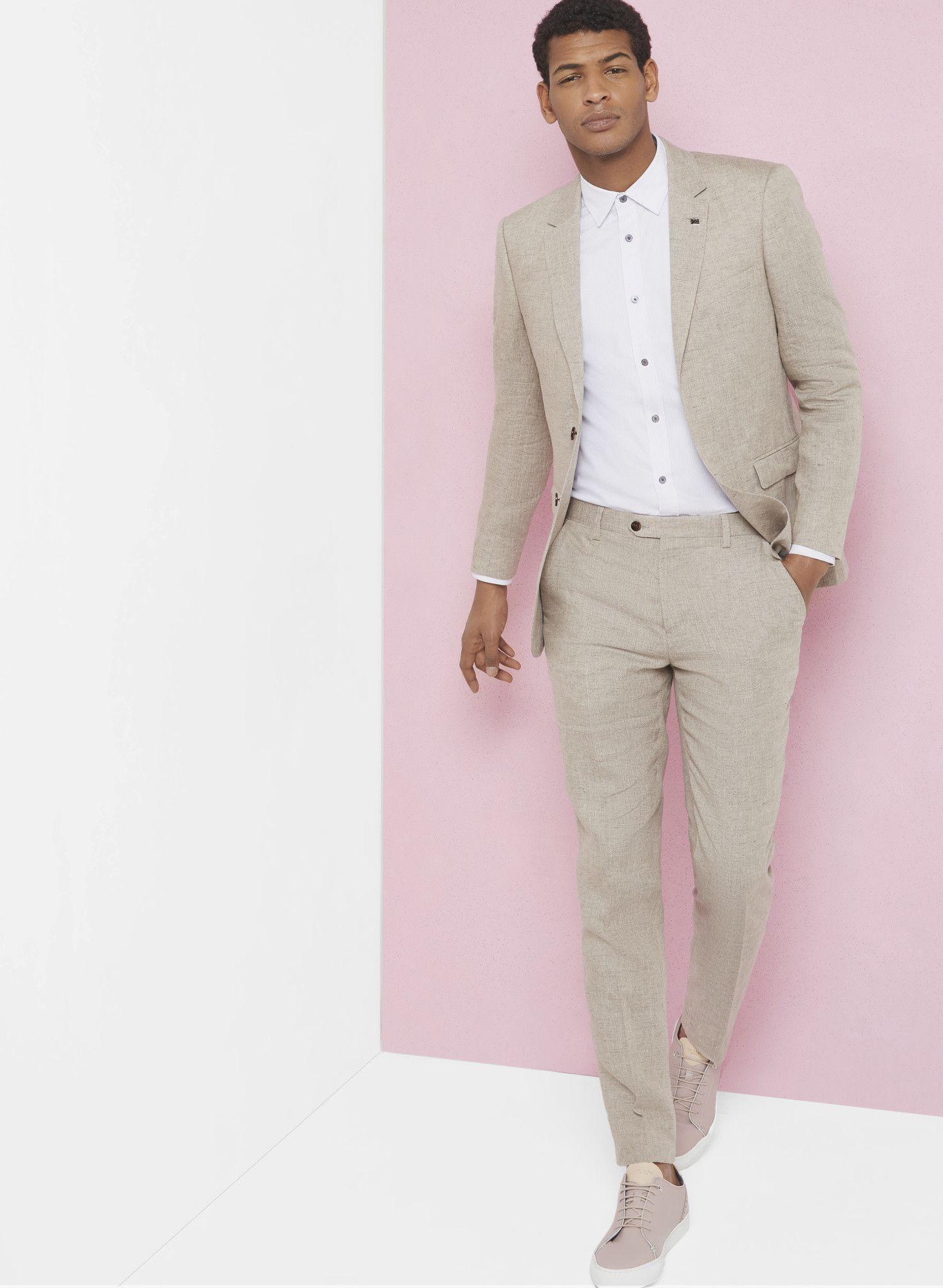 3eee3fdb6 Debonair linen jacket - Taupe