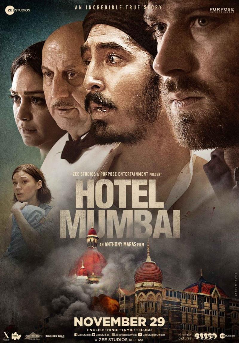 Hotel Mumbai 29 Nov 2019 In 2021 Free Hd Movies Online Indie Movie Posters Hindi Movies