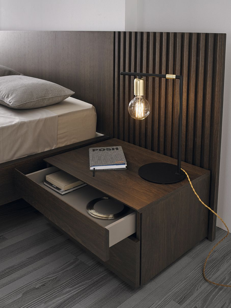 mies bed by odosdesign mobenia home bedroom. Black Bedroom Furniture Sets. Home Design Ideas