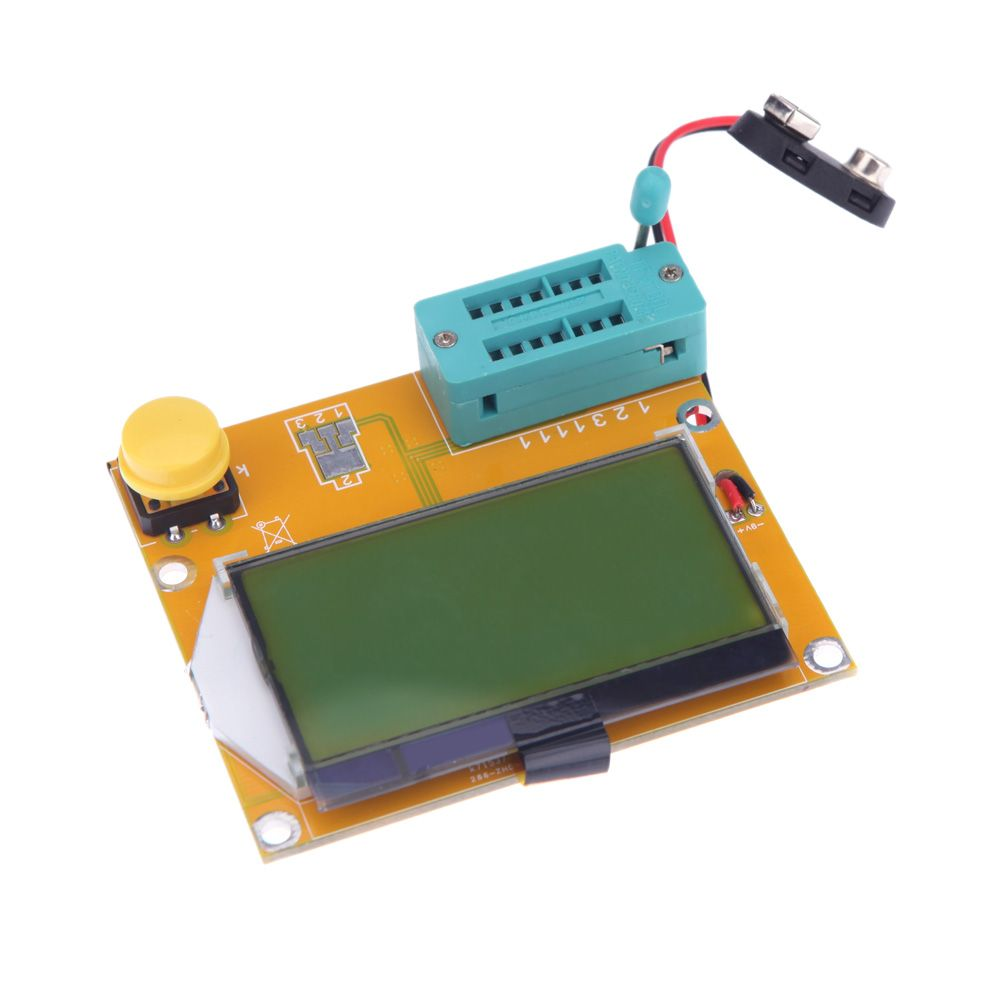Lcd Backlight Esr Meter Lcr Led Transistor Tester Diode Triode Automation And Controls How To Test Whether A Sensor Has Pnp Or Npn Capacitance Diagnostic Tool Mos 12864 Electronic Diy Kit In Resistance Meters From