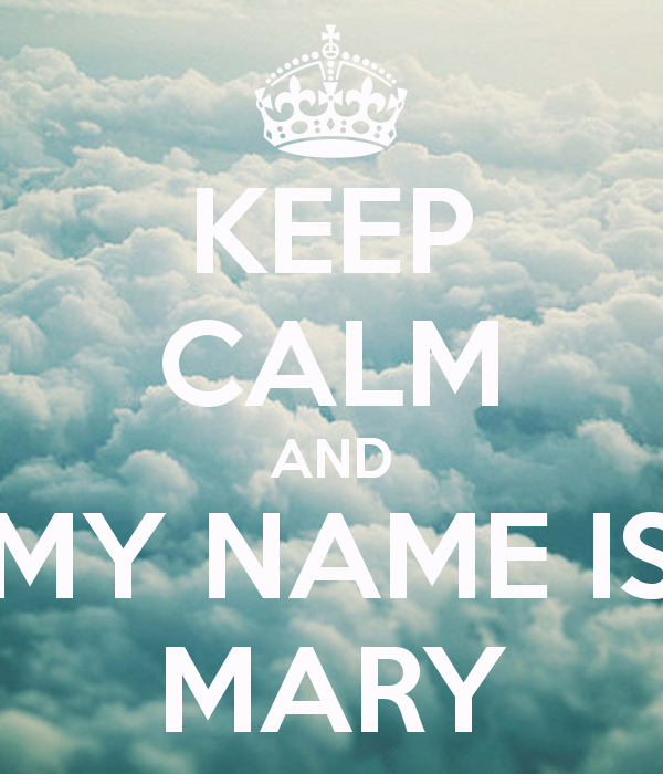 Group of Mary Name Wallpaper